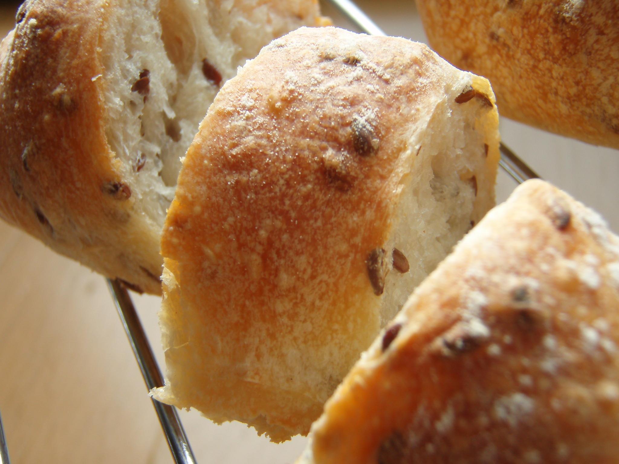 亜麻のパン