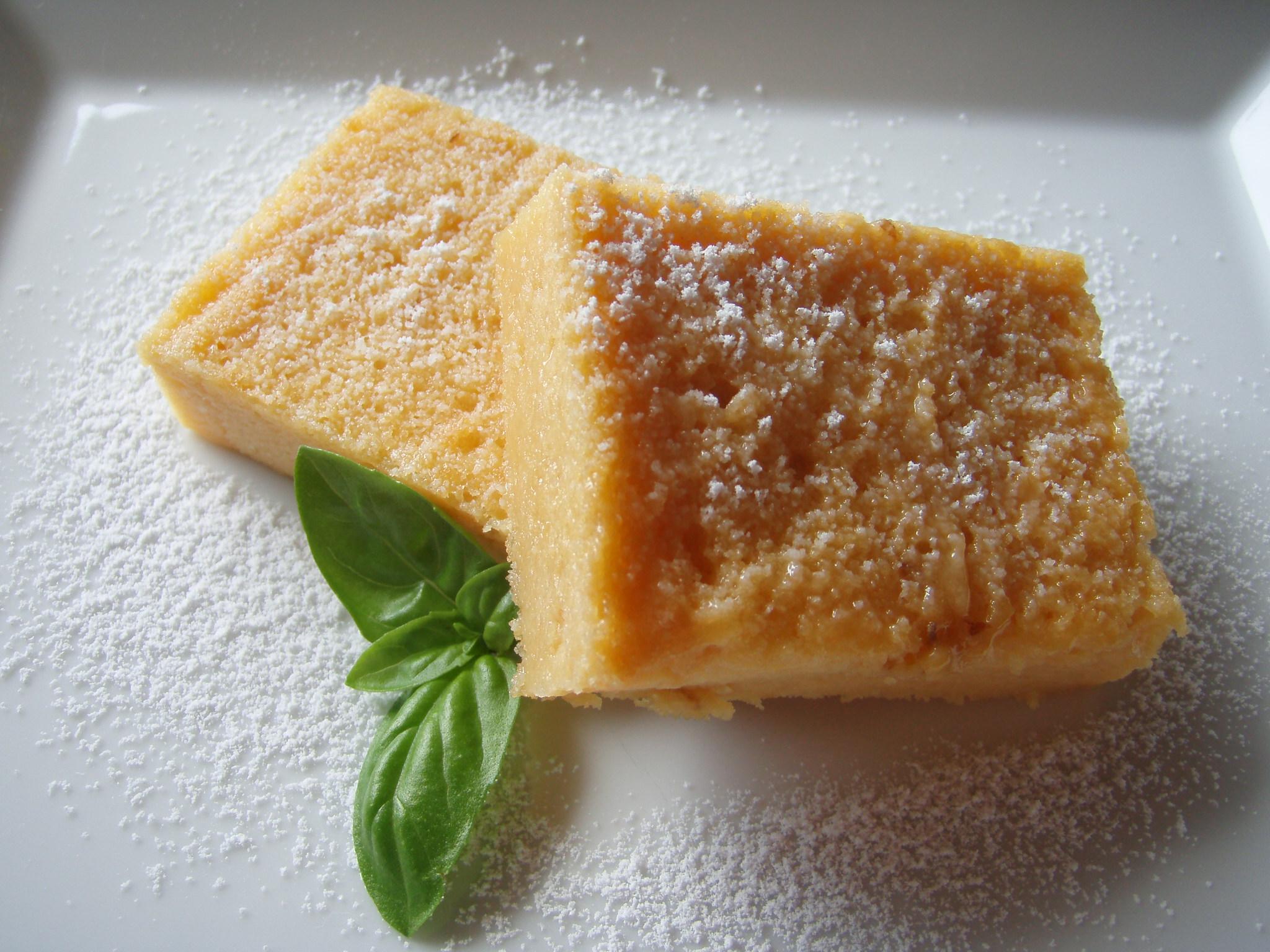 お味噌のチーズケーキ